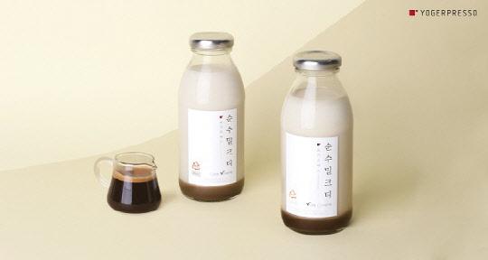 요거프레소 '순수 밀크티 보틀' 2종 출시, 병 음료 라인업 강화